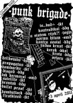 flyer punk brigade
